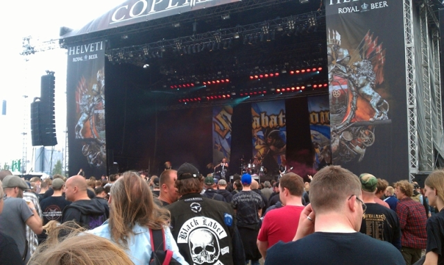 SABATON kicking it Heavy Metal style